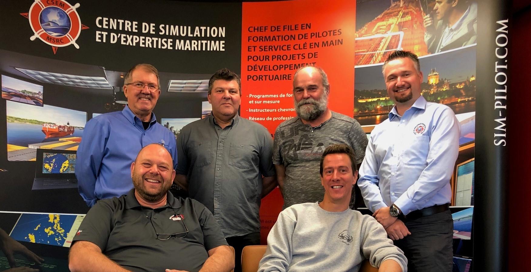 Le CSEM accueille les pilotes d'Iron Ore Canada